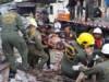 Thailand building collapse kills 3, traps 7