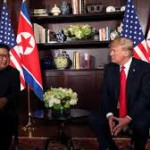 Donald Trump and Kim Jong-un summit live: US president expects 'terrific relationship' with North Korean leader (Reuters)