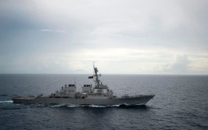 The US has made several excursions into the South China Sea, provoking Beijing's anger (AFP).