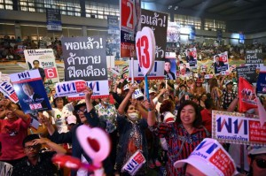 The Pheu Thai party taps a deep sense of loyalty from the poor but populous rural north and northeast (AFP)