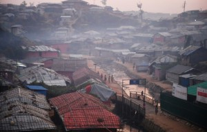 The Kutupalong camp near Bangladesh's border with Myanmar -- seen here in November 2018 -- is the biggest refugee settlement in the world, housing tens of thousands of Rohingya Muslims (AFP).