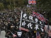 HK protesters call for boycott of Communist Party