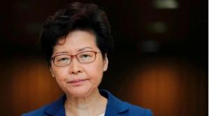Hong Kong Chief Executive Carrie Lam. (Reuters)